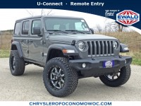 New, 2019 Jeep Wrangler Unlimited Sport S, Gray, C19J145-1
