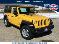 New, 2019 Jeep Wrangler Unlimited Sport S, Other, C19J161-1