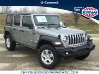 New, 2019 Jeep Wrangler Unlimited Sport S, Silver, C19J201-1
