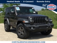 New, 2019 Jeep Wrangler Sport S, Gray, C19J90-1