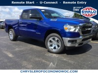 New, 2019 Ram 1500 Big Horn, Blue, D19D12-1