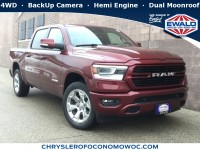 New, 2019 Ram 1500 Big Horn/Lone Star, Red, D19D235-1