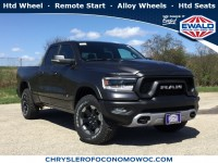 New, 2019 Ram 1500 Rebel, Gray, D19D331-1