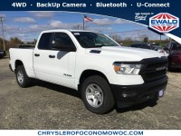 New, 2019 Ram 1500 Tradesman, White, D19D36-1