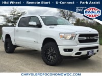New, 2019 Ram 1500 Big Horn/Lone Star, White, D19D41-1