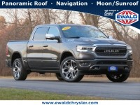 Certified, 2019 Ram 1500 Limited, Gray, D21D1A-1