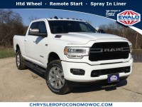 New, 2019 Ram 2500 Big Horn, White, D19D286-1
