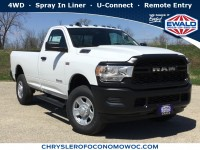 New, 2019 Ram 2500 Tradesman, White, D19D323-1