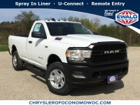 New, 2019 Ram 2500 Tradesman, White, D19D324-1