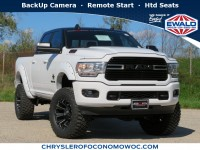 New, 2019 Ram 2500 Big Horn, White, D19D339-1