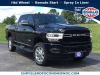 New, 2019 Ram 2500 Big Horn, Black, D19D389-1
