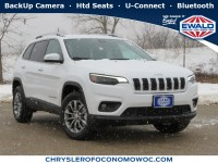 New, 2020 Jeep Cherokee Latitude Plus, White, C20J160-1