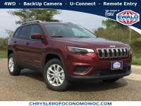 New, 2020 Jeep Cherokee Latitude, Red, C20J51-1