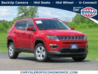 New, 2020 Jeep Compass Latitude, Red, C20J130-1