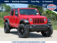 New, 2020 Jeep Gladiator Sport S, Red, C20J10-1