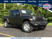 New, 2020 Jeep Gladiator Sport S, Gray, C20J27-1