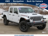 New, 2020 Jeep Gladiator Mojave 4X4, White, C20J314-1