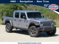 Certified, 2020 Jeep Gladiator Rubicon, Silver, CN1971A-1