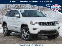 New, 2020 Jeep Grand Cherokee Limited 4X4, White, C20J179-1