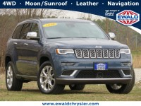Certified, 2020 Jeep Grand Cherokee Summit 4x4, Blue, CN2032-1