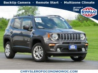 New, 2020 Jeep Renegade Latitude 4X4, Gray, C20J132-1