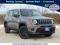 New, 2020 Jeep Renegade Sport 4X4, Gray, C20J134-1