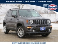 New, 2020 Jeep Renegade Latitude 4X4, Gray, C20J152-1