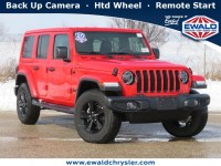 New, 2020 Jeep Wrangler Sahara Altitude 4x4, Red, C20J312-1