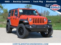 New, 2020 Jeep Wrangler Unlimited Sport S, Orange, C20J17-1