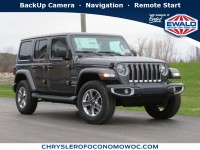 New, 2020 Jeep Wrangler Unlimited Sahara, Gray, C20J190-1