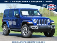New, 2020 Jeep Wrangler Unlimited Sahara, Blue, C20J204-1