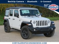 New, 2020 Jeep Wrangler Unlimited Sport, White, C20J78-1