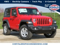 New, 2020 Jeep Wrangler Sport S, Red, C20J74-1