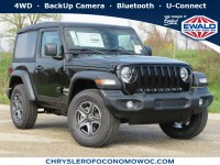 New, 2020 Jeep Wrangler Sport S, Black, C20J80-1