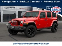 New, 2020 Jeep Wrangler Unlimited Sahara Altitude, Red, C20J312-1