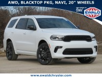 New, 2021 Dodge Durango GT Plus AWD, White, D21D85-1