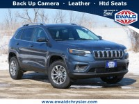 New, 2021 Jeep Cherokee Latitude Lux 4X4, Blue, C21J28-1