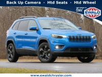 New, 2021 Jeep Cherokee Altitude 4X4, Blue, C21J47-1