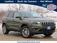 New, 2021 Jeep Cherokee Latitude Lux 4X4, Green, C21J79-1