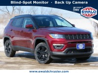 New, 2021 Jeep Compass Altitude 4X4, Red, C21J61-1