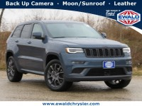 New, 2021 Jeep Grand Cherokee High Altitude 4x4, Blue, C21J101-1