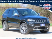 New, 2021 Jeep Grand Cherokee Limited 4X4, Black, C21J111-1