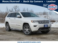 New, 2021 Jeep Grand Cherokee Overland 4X4, White, C21J87-1
