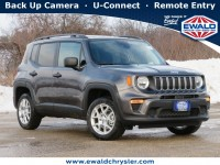 New, 2021 Jeep Renegade Sport 4X4, Gray, C21J38-1