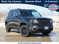 New, 2021 Jeep Renegade Upland Edition 4X4, Black, C21J54-1
