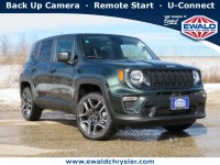 New, 2021 Jeep Renegade Jeepster 4X4, Green, C21J60-1