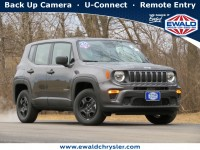 New, 2021 Jeep Renegade Sport 4X4, Gray, C21J37-1