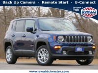 New, 2021 Jeep Renegade Latitude 4X4, Blue, C21J49-1