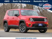 New, 2021 Jeep Renegade Jeepster 4X4, Red, C21J52-1