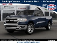 New, 2021 Ram 1500 Big Horn, Blue, D21D4-1